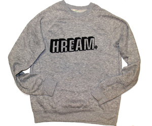 Doug Hream Blunt Grey Medium Sweatshirt