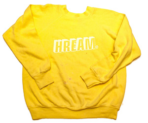 Doug Hream Blunt Yellow XL Sweatshirt